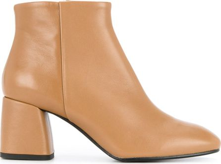 Estnation chunky heel ankle boots