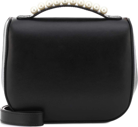 Simone Rocha Embellished leather shoulder bag