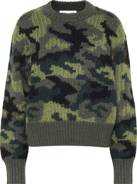 Proenza Schouler PSWL camouflage wool-blend sweater