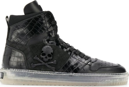 Philipp Plein Skull high top sneakers