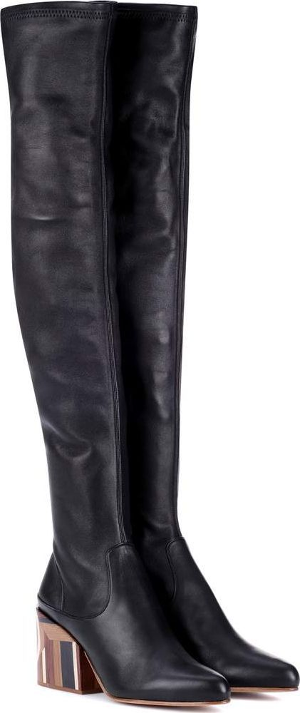Gabriela Hearst Catlett over-the-knee leather boots