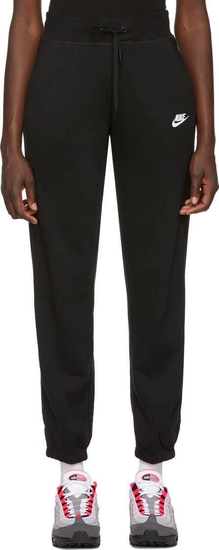 Nike Black NSW Fleece Loose Lounge Pants