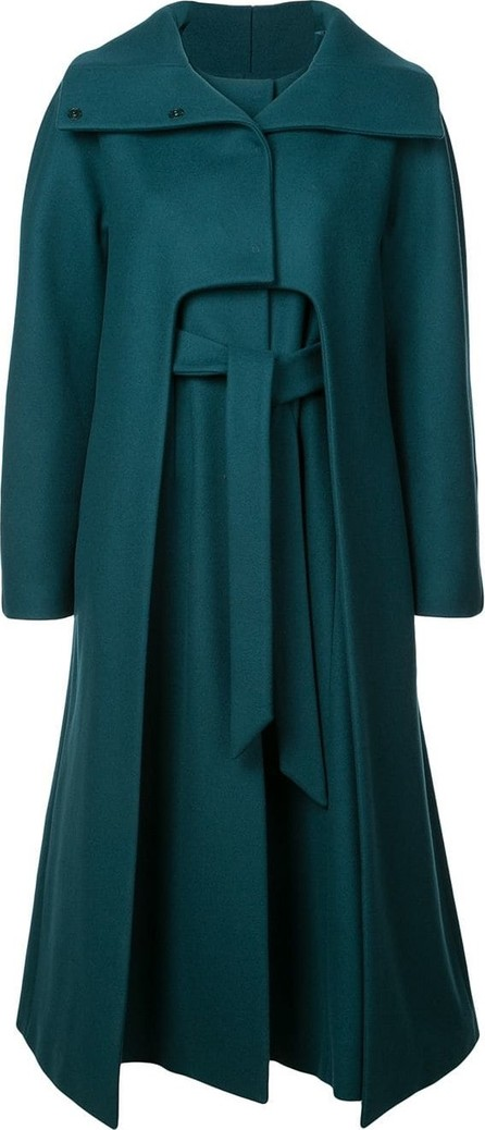 Alberta Ferretti Single-breasted midi coat