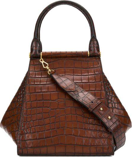 Max Mara Crocodile-print bag