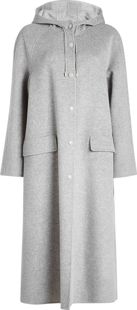 Joseph Rowen Felted Wool Coat with Hood