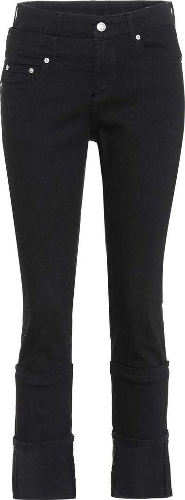 Alexander McQueen Capri high-waisted jeans