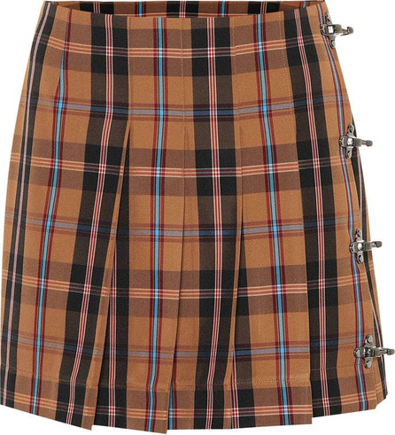 Rokh Plaid miniskirt
