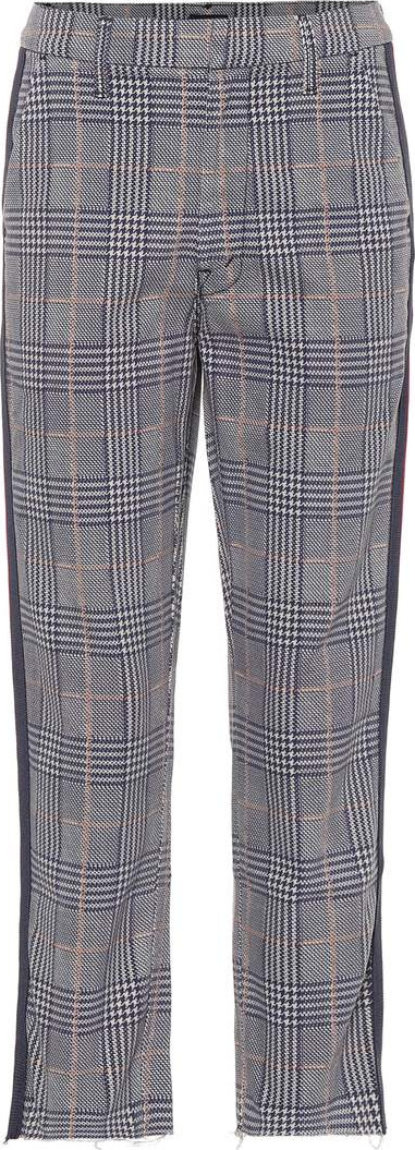 MOTHER The Shaker Prep Fray straight pants