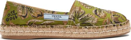 Prada Brocade espadrilles