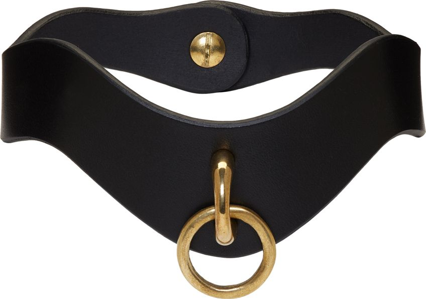 Fleet Ilya - Black Slim O Ring Collar