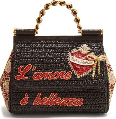 Dolce & Gabbana Sicily Amor embellished bag