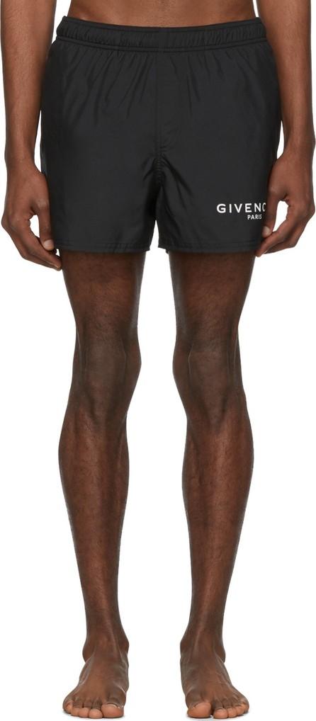 Givenchy Black 'Paris' Swim Shorts