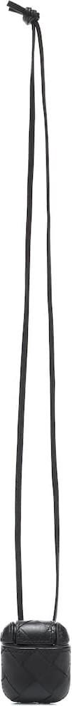 Bottega Veneta Intrecciato iPhone headphone holder