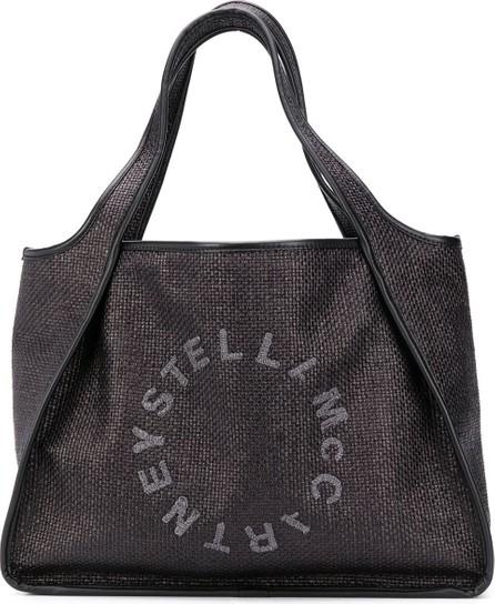 Stella McCartney Stella Logo woven tote bag