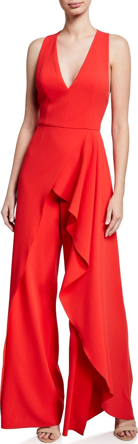 7f1c45300545 Alice + Olivia Lyle Sleeveless Sequin Jumpsuit - Mkt