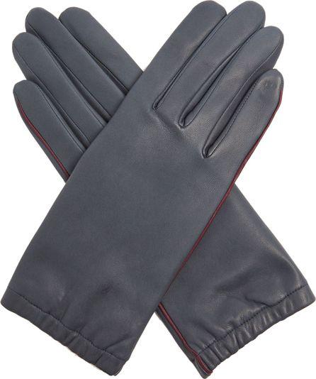 Agnelle Bi-colour leather gloves