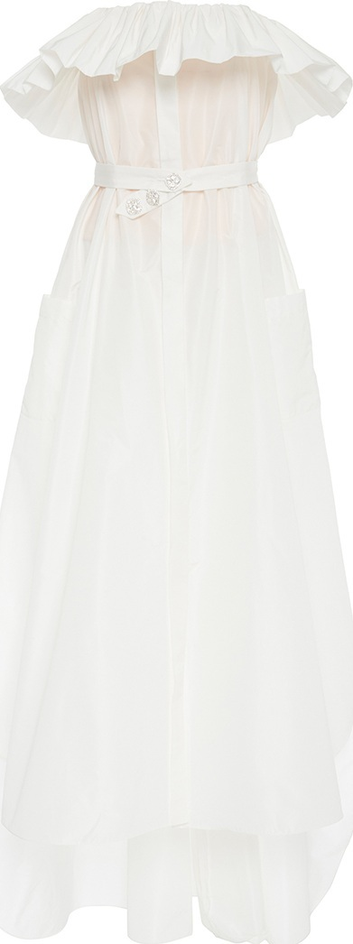 Alexis Mabille Froufrou Strapless Dress