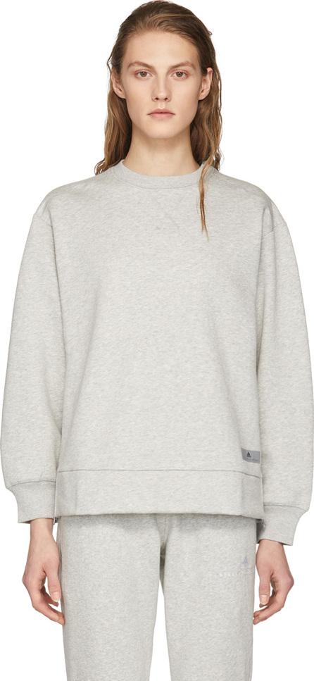 Adidas By Stella McCartney Grey Yo Zip Crewneck Sweatshirt
