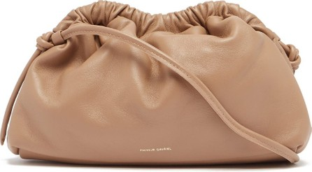Mansur Gavriel Mini Cloud leather clutch bag