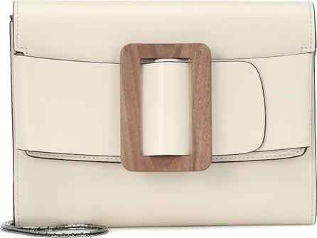BOYY Buckle leather clutch