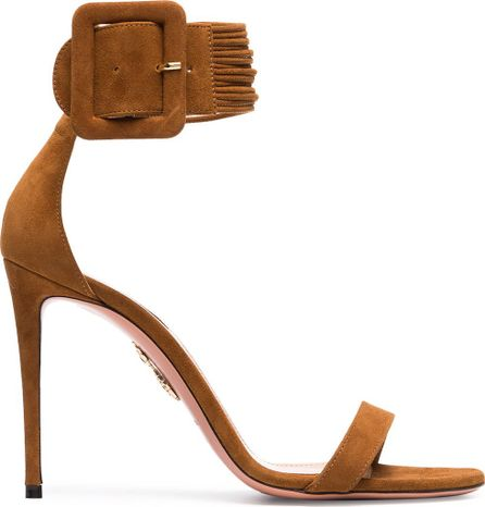 Aquazzura Casablanca Suede Sandals