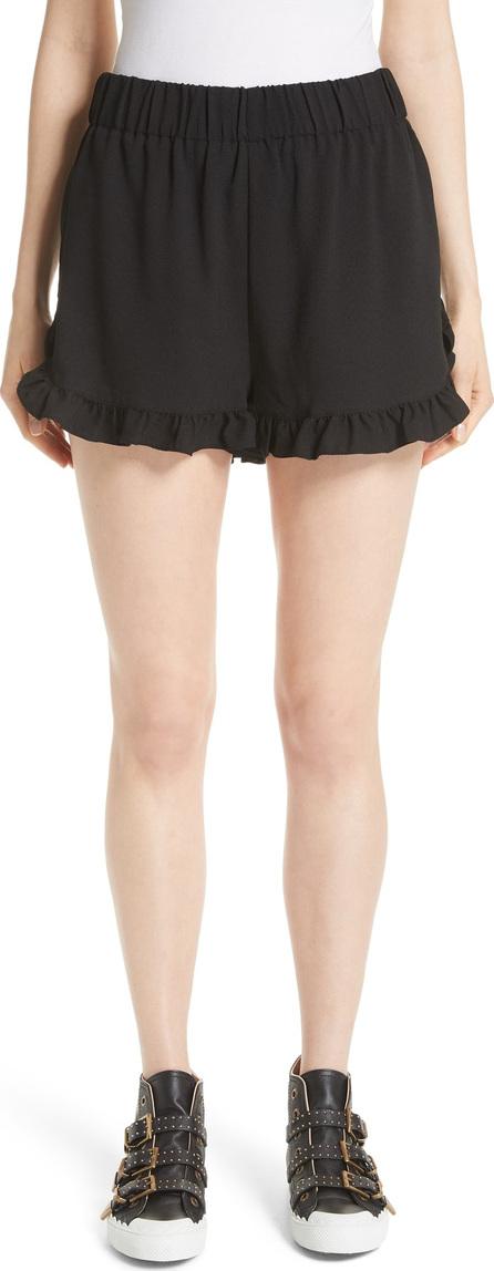Ganni Clark Ruffle Shorts