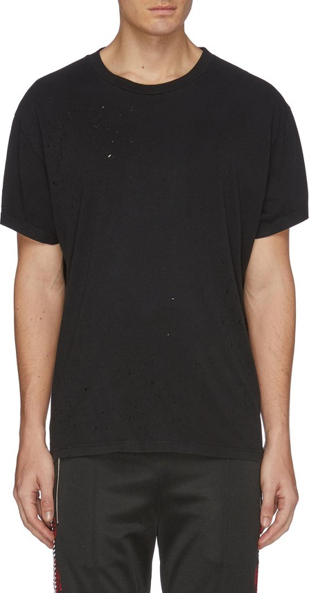 Amiri 'Shotgun' distressed T-shirt