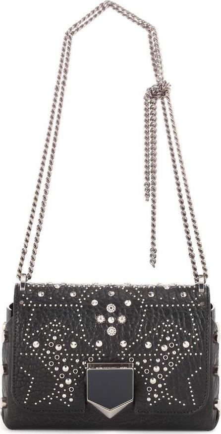 Jimmy Choo Lockett Petite embellished leather shoulder bag