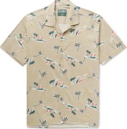 Gitman Vintage Camp-Collar Printed Cotton-Blend Shirt