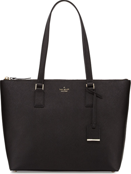 Kate Spade New York cameron street lucie leather tote bag, black