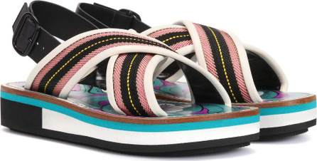 Marni Striped sandals