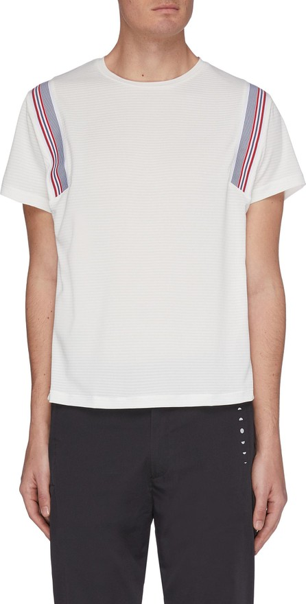 Particle Fever Quickdry shoulder stripe T-shirt
