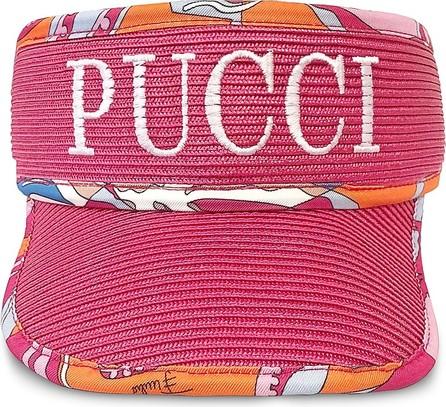 Emilio Pucci Signature Fuchsia Women's Tennis Visor