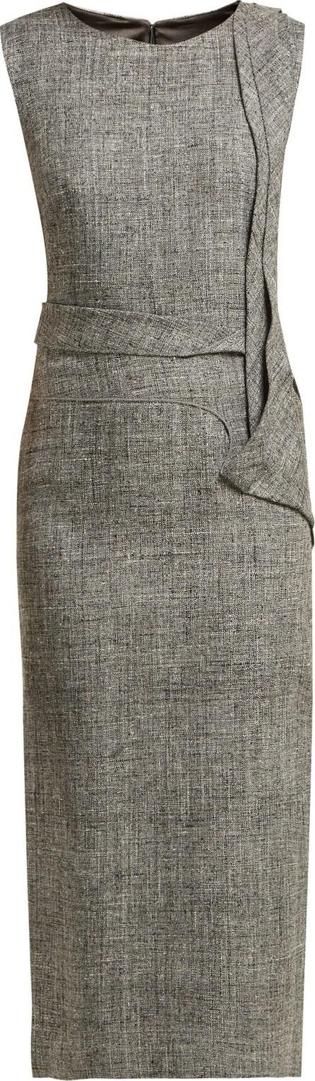 Carl Kapp Nectar folded-panel midi dress