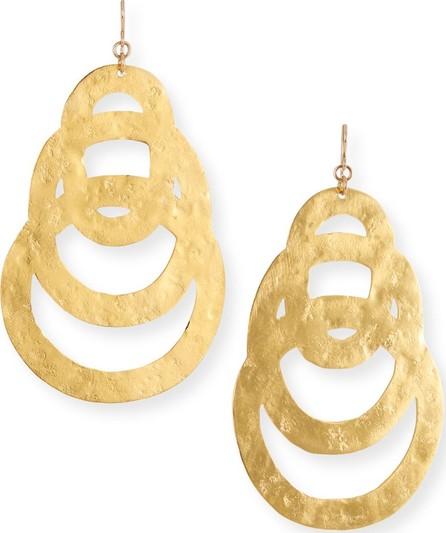 Devon Leigh Flat Multi-Circle Earrings