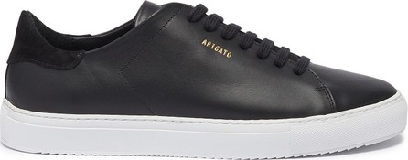 Axel Arigato 'Clean 90' suede collar leather sneakers