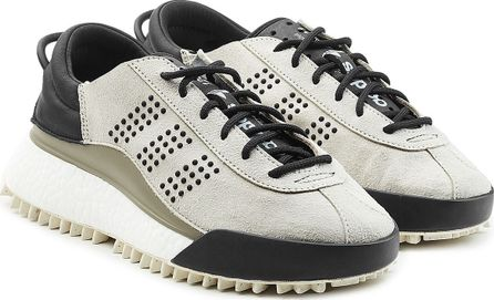Adidas Originals by Alexander Wang Hike Low Top Sneakers with Leather and Suede