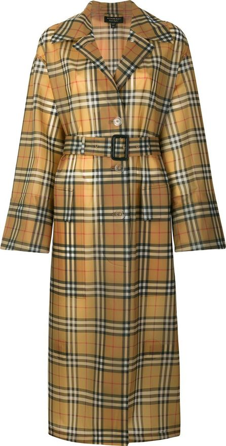 Burberry London England House check trench coat