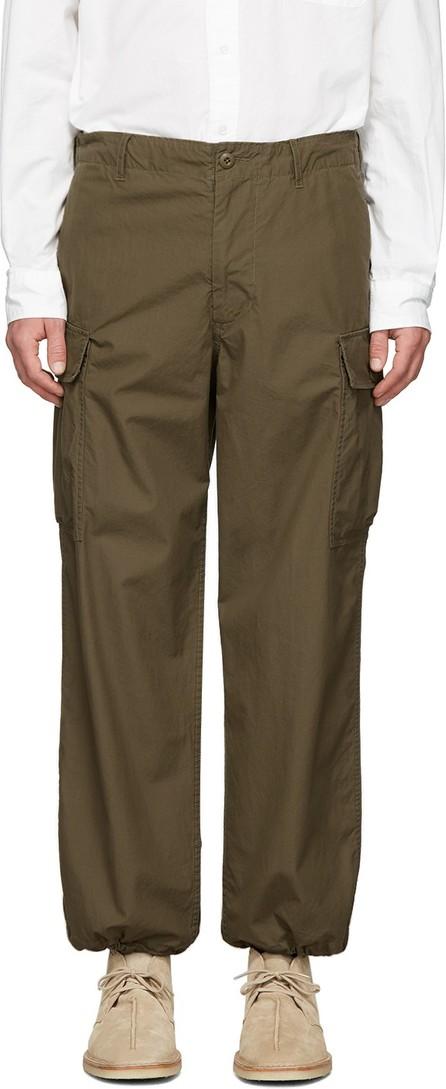 Beams Plus Green Ripstop Cargo Pants