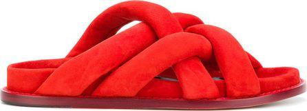 Proenza Schouler Crossover strap sandals