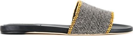 Alberta Ferretti studded trim sandals