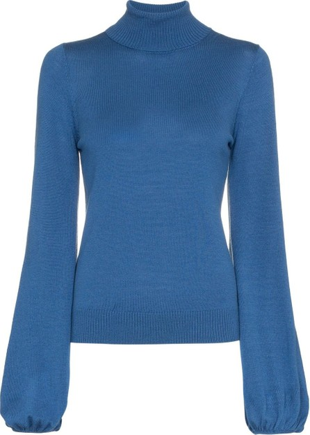 Staud Diane Turtleneck Knitted Wool Jumper