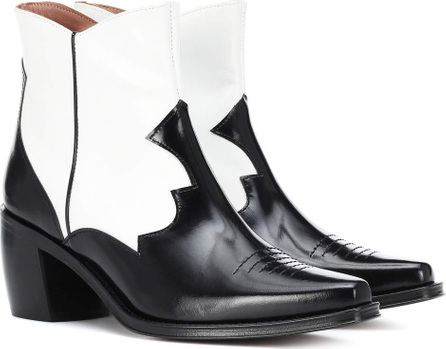 Alexachung Leather cowboy boots
