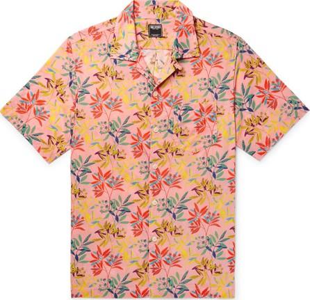 Todd Snyder + Liberty London Camp-Collar Floral-Print Cotton-Poplin Shirt