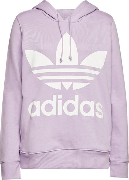 Adidas Originals Trefoil Printed Cotton Hoody