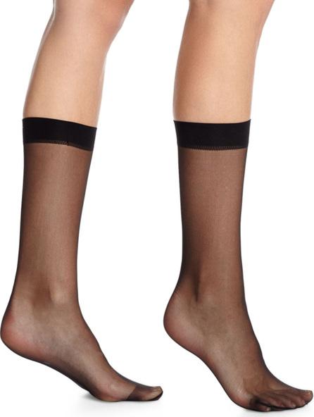 "Wolford ""Individual 10"" Mesh Socks"