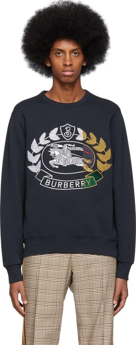 Burberry London England Navy Renshaw Sweatshirt