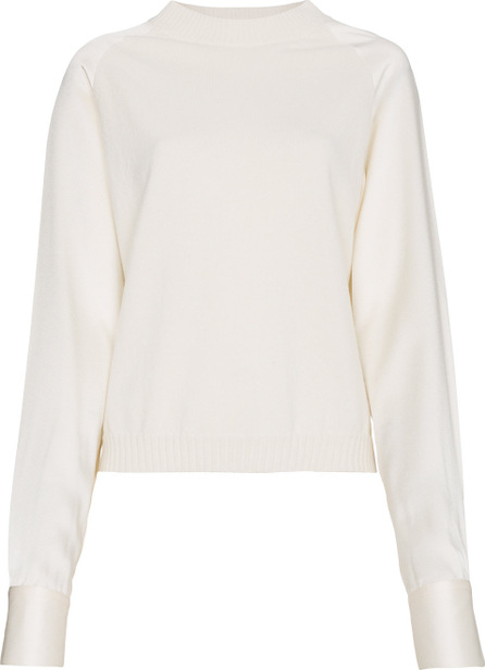 Haider Ackermann Cashmere blend sweater with fabric sleeves