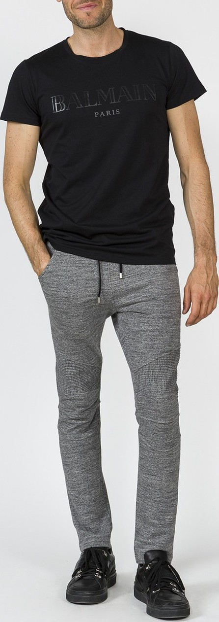 Balmain biker sweatpants