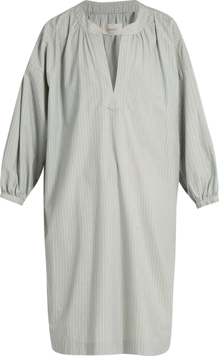 THE GREAT. The Easy Tunic striped cotton dress
